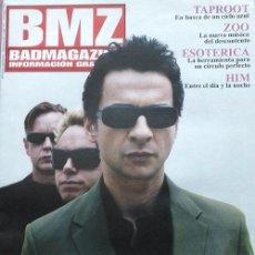Revistas de música: DEPECHE MODE PORTADA Y REPORTAJE INTERIOR - BAD MAGAZINE OCTUBRE 2005 - HIM ESOTERICA ZOO TAPROOT. Lote 50032358
