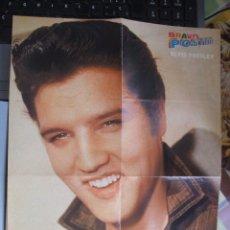 Revistas de música: ELVIS PRESLEY - POSTER - REVISTA BRAVO *RARA FOTO*. Lote 50035268