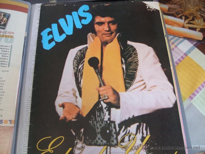 ELVIS PRESLEY - ELVISLY YOURS ISSUE Nº 6. AÑO 1982. REINO UNIDO (Música - Revistas, Manuales y Cursos)