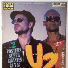 Revistas de música: HEAVY PUNK ROCK. AÑO 1. Nº 7. URUGUAY. ESPECIAL U2. . Lote 50172067