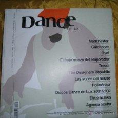Magazines de musique: REVISTA DE MUSICA DANCE DE LUX 2002. *. Lote 50191998