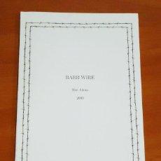 Revistas de música: BARB WIRE [STARGAZER, MARTIAL BARRAGE, INKISITOR...] - THE ALIENS · ISSUE #1 - FANZINE. Lote 50427012