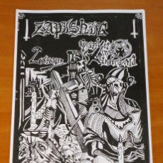 Revistas de música: ZAPISNIK ZINE [PSEUDOGOD, GOAT TYRANT, PARIA...] - #2 - ZINE. Lote 50427994