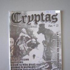 Revistas de música: FANZINE - HARDCORE PUNK - CRYPTAS Nº 23 - 2008 - IMPORTACIÓN MÉXICO. Lote 240762705