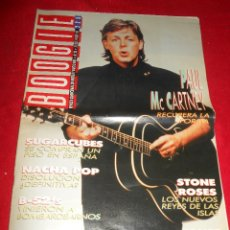 Revistas de música: REVISTA BOOGIE 23 OCTUBRE 1989 ESPAÑA SPAIN BEATLES PAUL MCCARTNEY SUGARCUBES NACHA POP STONE ROSES. Lote 50491262