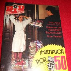 Revistas de música: REVISTA BOLETIN INFORMATIVO DISCOPLAY BID NUMERO ESPECIAL DICIEMBRE 1985. Lote 50491434