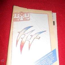 Revistas de música: REVISTA BOLETIN INFORMATIVO DISCOPLAY BID NUMERO 62 JULIO 1989. Lote 50560377