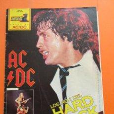 Revistas de música: POPULAR 1 REVISTA ESPECIAL AC DC CON POSTER 60 X 80 CM. ACDC. Lote 50752157