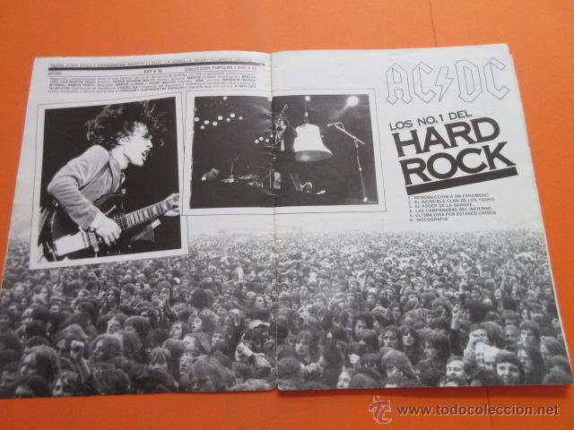Revistas de música: POPULAR 1 REVISTA ESPECIAL AC DC CON POSTER 60 x 80 CM. ACDC - Foto 3 - 50752157