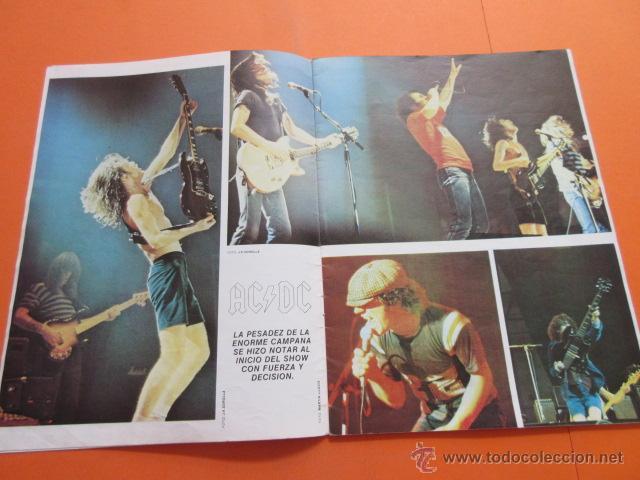 Revistas de música: POPULAR 1 REVISTA ESPECIAL AC DC CON POSTER 60 x 80 CM. ACDC - Foto 4 - 50752157