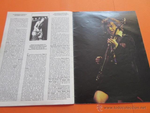 Revistas de música: POPULAR 1 REVISTA ESPECIAL AC DC CON POSTER 60 x 80 CM. ACDC - Foto 5 - 50752157
