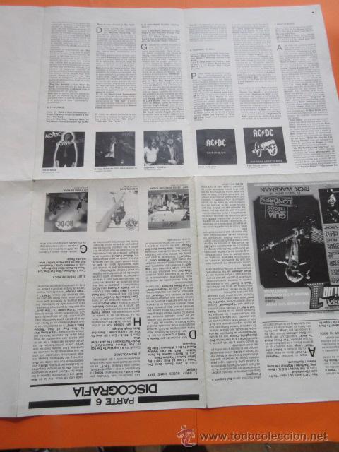 Revistas de música: POPULAR 1 REVISTA ESPECIAL AC DC CON POSTER 60 x 80 CM. ACDC - Foto 15 - 50752157