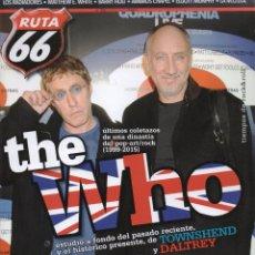 Musikzeitschriften - RUTA 66 N. 325 ABRIL 2015 - EN PORTADA: THE WHO (NUEVA) - 50807170