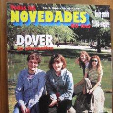 Revistas de música: NOVEDADES NRO 46 ABR 1997. DOVER,BECK,AEROSMITH,AUTOMATICS,LIVE,CHUCHO,SUPERSUCKERS,ZAP MAMA, .... Lote 246714905