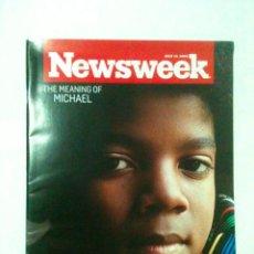Revistas de música: REVISTA NEWSWEEK, MICHAEL JACKSON. Lote 51089731