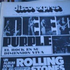 Revistas de música: DISCO EXPRES Nº 208 DEEP PURPLE ROLLING STONES ELVIS PRESLEY . Lote 51136251