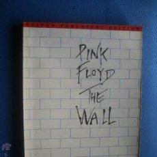 Revistas de música: PINK FLOYD THE WALL GUITAR TABLATURE EDITION 223 PAGINAS PEPETO. Lote 51246614