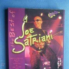 Revistas de música: JOE SATRIANI THE BEST OF GUITAT TAB (TABLATURES ) CARISCH 127 PAGINAS PEPETO. Lote 51246765