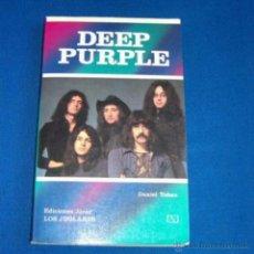 Riviste di musica: DEEP PURPLE. EDITORIAL JUCAR LOS JUGLARES. LIBRO DESCATALOGADO.. Lote 51255593