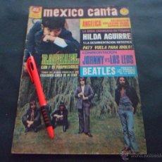 Revistas de música: LOS BEATLES ~ RAPHAEL ~ JOHNNY DYNAMO ~ ELVIS PRESLEY ~ LOS LEO ... EN LA REVISTA MEXICO CANTA 1970. Lote 51320292