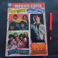 Revistas de música: LOS BEATLES ~ RAPHAEL ~ BEACH BOYS ~ BEE GEES ~ MARY HOPKIN ... EN LA REVISTA MEXICO CANTA 1969. Lote 51325407