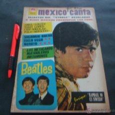 Revistas de música: LOS BEATLES ~ RAPHAEL ~ ROCIO DURCAL ~ RENATA ~ BLUES MAGOOS ... EN LA REVISTA MEXICO CANTA 1967. Lote 51325517