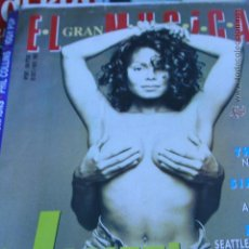 Revistas de música: JANET JACKSON SINIESTRO TOTAL NIRVANA THE CURE SCORPIONS EL GRAN MUSICAL 1993. Lote 51361846