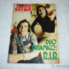 Revistas de música: MUNDO JOVEN Nº229 (17-FEBRERO-73): DUO DINAMICO, THREE DOG NIGHT, CARLY SIMON........... Lote 51600373