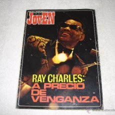 Riviste di musica: MUNDO JOVEN Nº210 (7-OCTUBRE-1972): RAY CHARLES, WALDO DE LOS RIOS, MASSIEL........... Lote 51695596