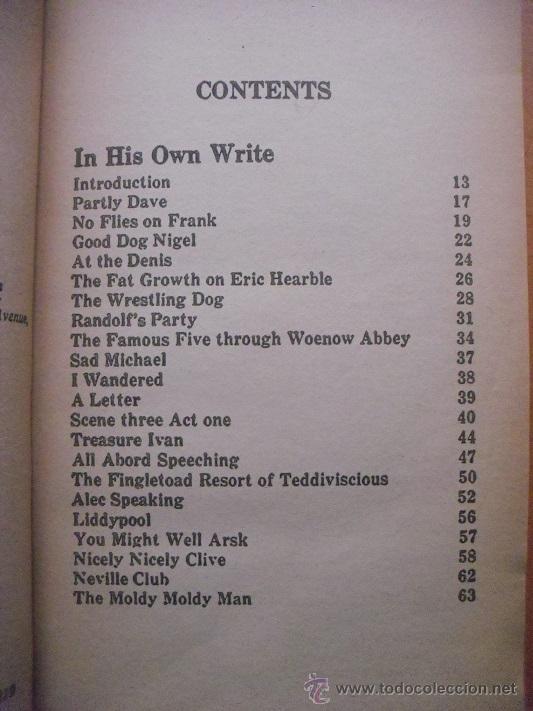 Revistas de música: John Lennon - Libro In his own write & Spaniard in the works (1965) - Beatles - Foto 4 - 51926777