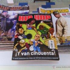 Revistas de música: LOTE PACK 55 REVISTAS RAP HIP HOP NATION + 4 ESPECIALES POSTERS / RAP HIP HOP ESPAÑOL USA / GRAFFITI. Lote 51957923
