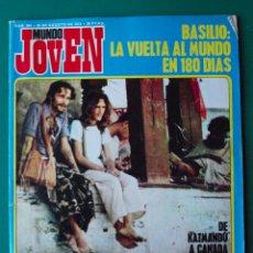 Revistas de música: MUNDO JOVEN 204. 26/8/72 - BASILIO, MOUSTAKI, EMILIO JOSÉ, DOORS, ERROL FLYNN, YACO LARA. Lote 52133267