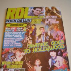 Revistas de música: REVISTA RDL ROCK DE LUX Nº 2 1984. Lote 52280661
