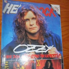 Revistas de música: HEAVY ROCK Nº 103- OZZY OSBOURNE, BLACK SABBATH, NIRVANA, SOUNDGARDEN, BARON ROJO, HAMLET, CICATRIZ.. Lote 52543508
