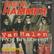 Revistas de música: METAL HAMMER 124 , INCLUYE POSTERS: BLACK SABBATH , DEFTONES.. Lote 171512973