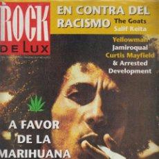 Revistas de música: ROCK DE LUX Nº 105 FEBRERO 1994 , BOB MARLEY, CYPRESS HILL, YO LA TENGO,. Lote 52671993