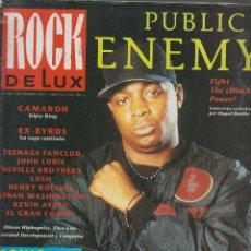 Revistas de música: ROCK DE LUX Nº 89 SEPTIEMBRE 1992 - PUBLIC ENEMY . Lote 52672243