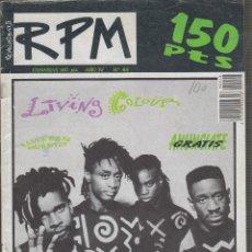 Revistas de música: REVOLUCIONES POR MINUTO Nº 48 , SABINA, LA DAMA SE ESCONDE. Lote 52674246