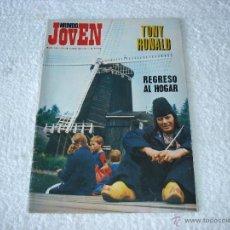 Revistas de música: MUNDO JOVEN Nº199 (22-JULIO-72): TONY RONALD, POP TOPS, MIDDLE OF THE ROAD........... Lote 52724696