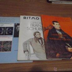 Revistas de música: LOTE DE 3 REVISTAS MUSICAL ILUSTRADA RITMO Nº 481, 486 Y 487 - TODAS DE 1978. Lote 52981072