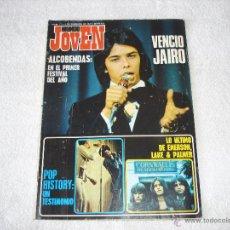Riviste di musica: MUNDO JOVEN 175 (5-FEBRERO-1972: EMERSON LAKE & PALMER, PEKENIKES, POP HISTORY.......... Lote 53014956