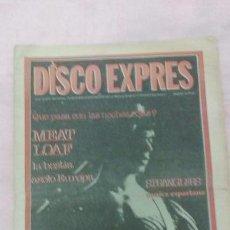 Revistas de música: REVISTA DISCO EXPRES N°484 DEL 16/6/1978. Lote 53065597