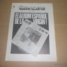 Revistas de música: DISCO EXPRES Nº 376 (REVISTA) ROLLING STONES, THE KINKS, DAVID ALLEN, JOHN MILES, LED ZEPPELIN, JORD. Lote 53189931