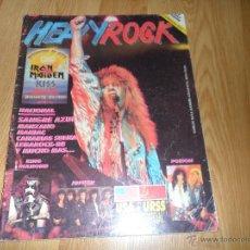 Revistas de música: REVISTA HEAVY/ROCK Nº 61. Lote 53192544
