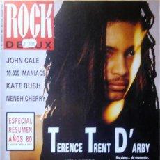 Revistas de música: ROCK DE LUX Nº 62 1990 TERENCE TRENT DARBY - JOHN CALE - KATE BUSH - DUNCAN DHU - 10000 MANIACS...... Lote 53262718