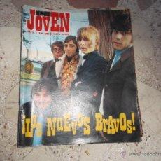 Revistas de música: MUNDO JOVEN Nº 29, LOS BRAVOS, ENDRIGO, RINGO STARR, RAIMON,FALTA POSTER, FALTA 1 HOJA DE LETRAS. Lote 53349256