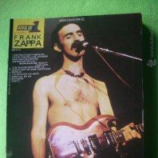 Revistas de música: POPULAR 1 FRANK ZAPPA ESPECIAL FRANK ZAPPA ESP A12 MUY BUEN ESTADO / COMPLETA / CON POSTER PDELUXE. Lote 53441400