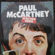 Revistas de música: LIBRO ''PAUL MCCARTNEY. IN HIS OWN WORDS'' (1978) - BEATLES. Lote 53456830