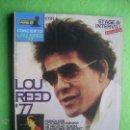 Revistas de música: POPULAR 1 CONCIERTO LOU REED 1977 PERFECTO .COMPLETO CON POSTER / CON 6 /PDELUXE. Lote 53477651