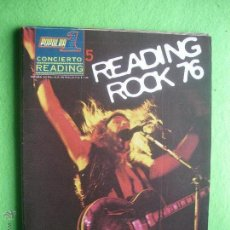 Revistas de música: POPULAR 1 CONCIERTO READING 1976 PERFECTO ESTADO.COMPLETO CON POSTER N 5 PDELUXE. Lote 53477702